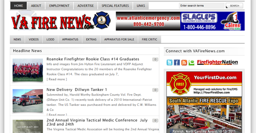 vafirenews screenshot